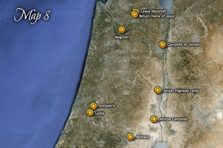 A harmadik húsvéti útja Jeruzsálembe