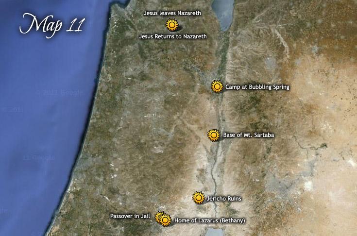 A hatodik húsvéti útja Jeruzsálembe Júdás nevű öccsével