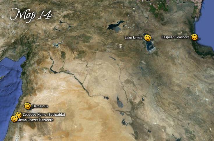 Caravan Journey from Nazareth to Lake Urmia & Caspean Sea