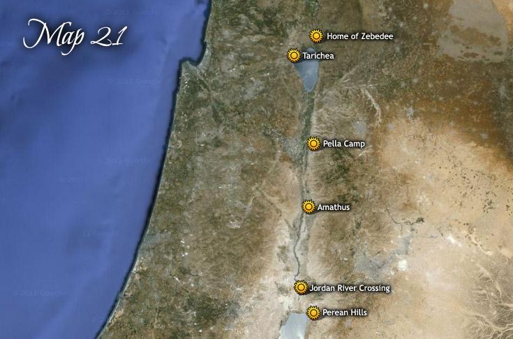 From Galilee to Pella, Jordan River Cross & Jericho