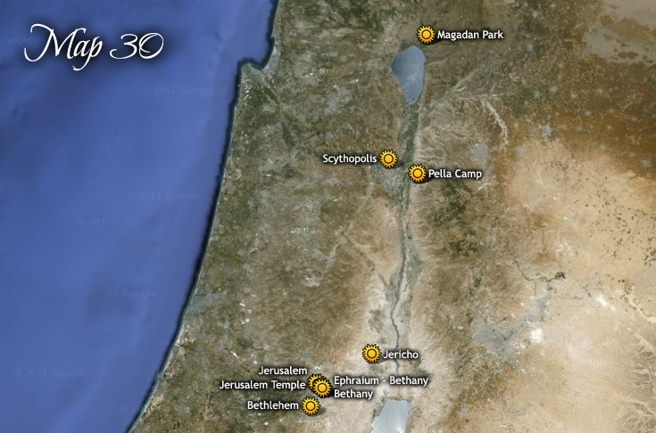 Move Headquarters to Pela Camp with Trips to Jerusalem