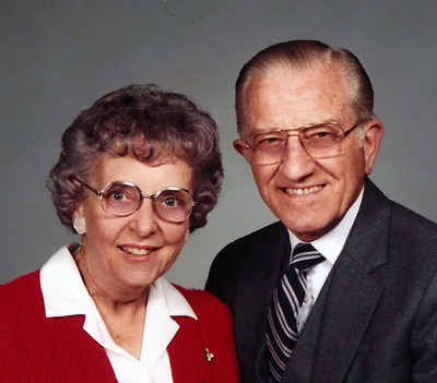 Meredith and Irene Sprunger