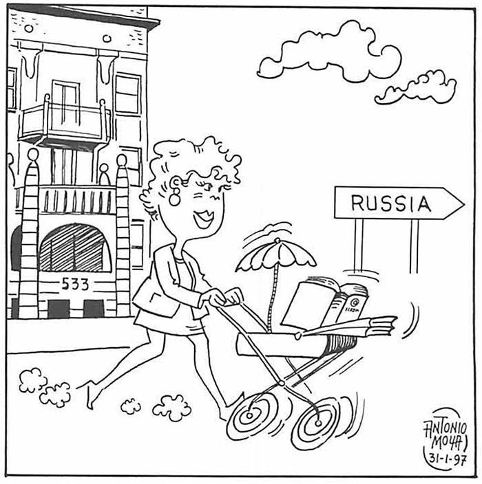 Urantia Book translation arrives in Russia by Antonio Moya