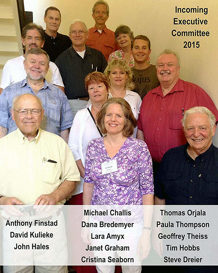 Urantia Book Fellowship 2015 incoming Executive Committee