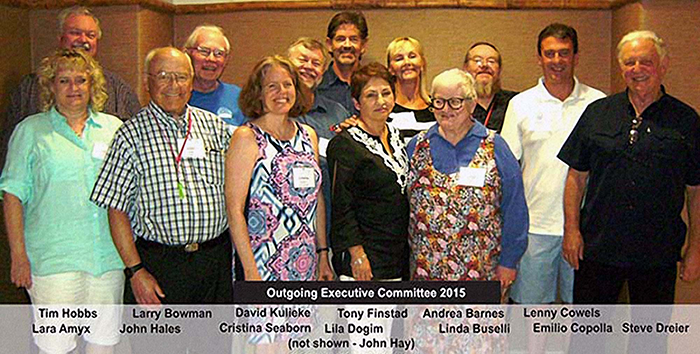 Urantia Book Fellowship 2015 outgoing Executive Committee